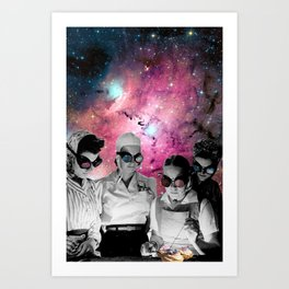 Space cooks Art Print