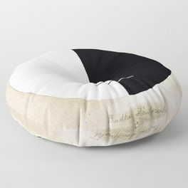 Hilma af Klint - Buddha's Standpoint in the Earthly Life, No. 3a, Series XI Floor Pillow