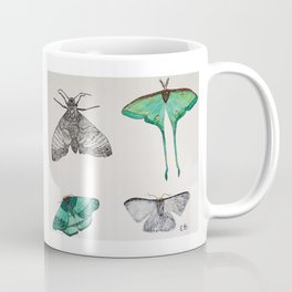 moth collection Coffee Mug