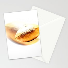 Football Gold Vintage Touch Stationery Cards