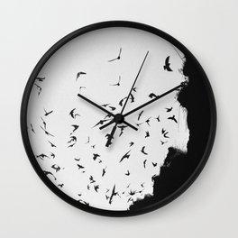 Black November Wall Clock