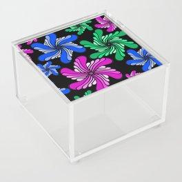 PinWheels on Black Acrylic Box