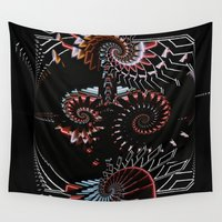 neon Wall Tapestries featuring Neon by NaturePrincess