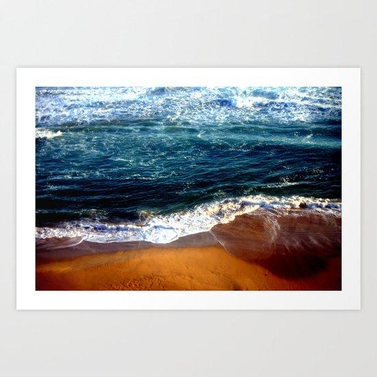 Ocean Swells Art Print