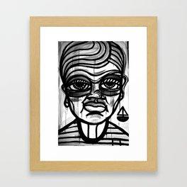 BOY WITH BOAT Framed Art Print