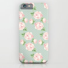Vintage Roses Pattern iPhone 6s Slim Case
