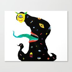 The Jolly Reaper Canvas Print
