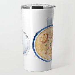 Salty soy milk | 咸豆浆 Travel Mug