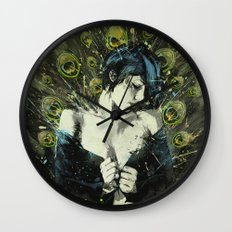 Black Pea Wall Clock