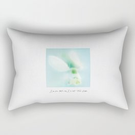 I am free, that's why I'm lost Rectangular Pillow