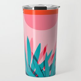 Whoa - palm sunrise southwest california palm beach sun city los angeles retro palm springs resort  Travel Mug