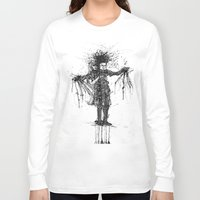 edward scissorhands Long Sleeve T-shirts featuring Edward Scissorhands by V.Live