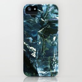 WATER WITH ICECUBES iPhone Case