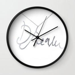 Dream pendant Wall Clock