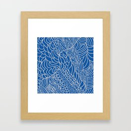Tangles Framed Art Print