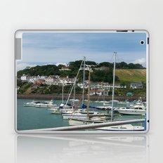 Boats in a Marina Laptop & iPad Skin