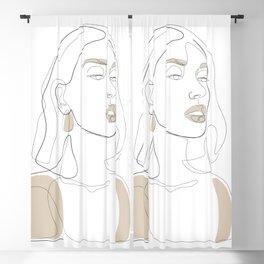 Sun-Kissed Blackout Curtain