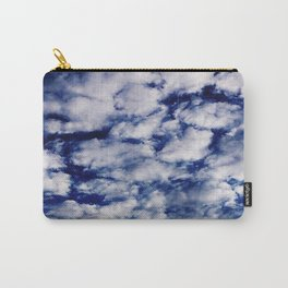 deep blue clouds Carry-All Pouch