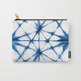 Shibori Tie Dye Pattern Carry-All Pouch