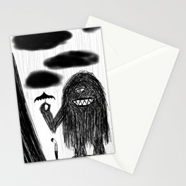 Even monsters need friends 2 Stationery Cards