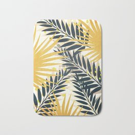 Palm Leaves Bath Mat