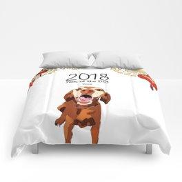 Year of the Dog - Vizsla Comforters