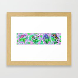 Flower Me Up Framed Art Print