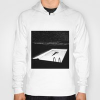 apollonia Hoodies featuring asc 593 - Le silence des cigales (The midnight lights) by From Apollonia with Love