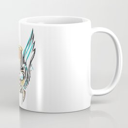 Valkyrie Cat Coffee Mug