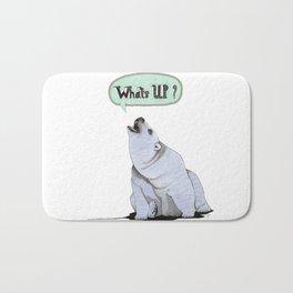 What's Up Bear Bath Mat