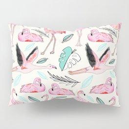 Flamingos Forever Pillow Sham