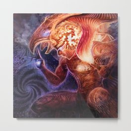 Neolithic Man (Astral Waves CD cover) Metal Print