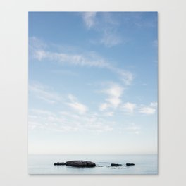 As Minimal As It Comes Canvas Print