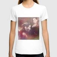 evil queen T-shirts featuring The Evil Queen by Daniela Vasco