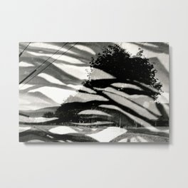Abstract Trees Metal Print