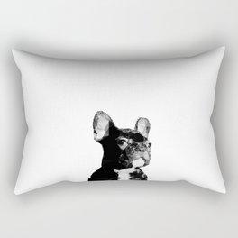 Majestic French Bulldog Modern Rectangular Pillow