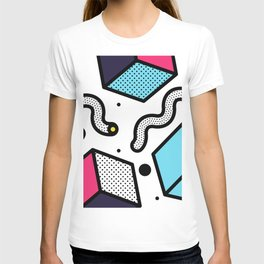 Memphis Pop-art Pattern II T-shirt