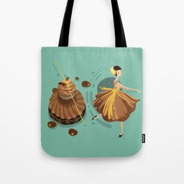 Caramel Salted Butter Choux  Tote Bag