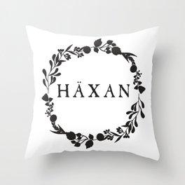 Häxan Throw Pillow