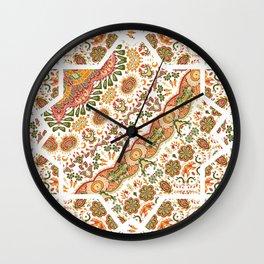 Namda Embroidery Look Wall Clock