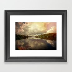 Adirondack Lake Framed Art Print