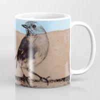 birdy Mugs featuring Birdy by zAcheR-fineT