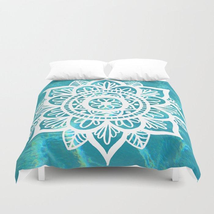 Water Mandala Duvet Cover