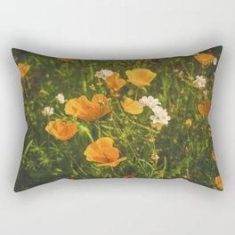 California Poppies 008 Rectangular Pillow