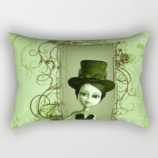Cute girl Rectangular Pillow