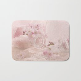 Almond blossoms in Vintage Style Bath Mat