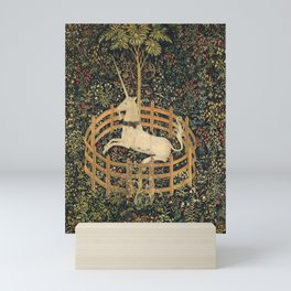 The Unicorn In Captivity Mini Art Print