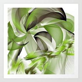 Côté palmier Art Print