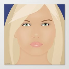 Just Another Pretty Face Canvas Print