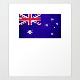 Australia Flag design   Australian design Art Print